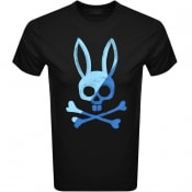 Product Image for Psycho Bunny Andover Logo T Shirt Black
